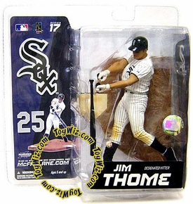 McFarlane Toys MLB Sports Picks Series 17 Exclusive Action Figure Jim Thome (Chicago White Sox) White Jersey