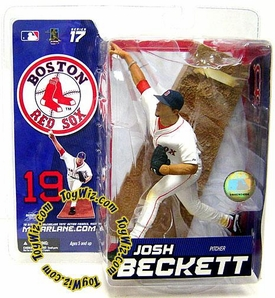 McFarlane Toys MLB Sports Picks Series 17 Exclusive Action Figure Josh Beckett 2 (Boston Red Sox)