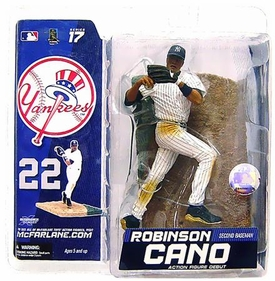 McFarlane Toys MLB Sports Picks Series 17 Exclusive Action Figure Robinson Cano (New York Yankees) White Uniform