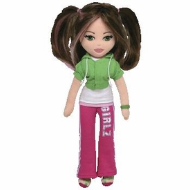 Ty Girlz Plush Doll Trendy Taylor