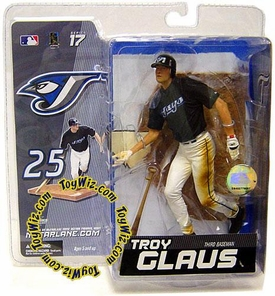 McFarlane Toys MLB Sports Picks Series 17 Exclusive Action Figure Troy Glaus (Toronto Blue Jays)