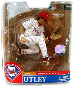 McFarlane Toys MLB Sports Picks Series 20 Exclusive Action Figure Chase Utley (Philadelphia Phillies)
