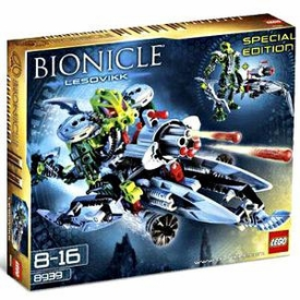 LEGO Bionicle Exclusive Set #8939 Lesovikk