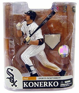 McFarlane Toys MLB Sports Picks Series 20 Exclusive Action Figure Paul Konerko (Chicago White Sox)