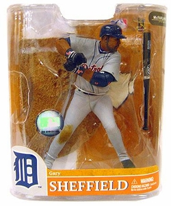 McFarlane Toys MLB Sports Picks Series 20 Exclusive Action Figure Gary Sheffield (Detroit Tigers) Gray Jersey