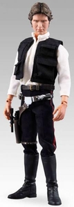 Star Wars Medicom Real Action Heroes 12 Inch Deluxe Collectible Figure Han Solo