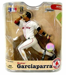 McFarlane Toys MLB Sports Picks Series 21 Action Figure Nomar Garciaparra (Boston Red Sox) Boston Uniform Variant