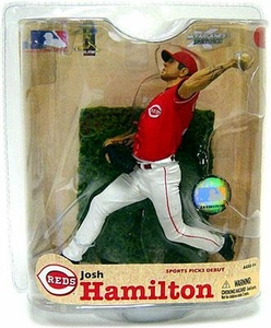 McFarlane Toys MLB Sports Picks Series 21 Action Figure Josh Hamilton (Cincinnati Reds) Reds Jersey Chase Piece