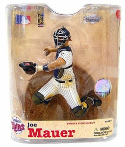 McFarlane Toys MLB Sports Picks Series 21 Action Figure Joe Mauer (Minnesota Twins)