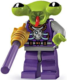 LEGO Minifigure Collection Series 3 LOOSE Mini Figure Squid Alien