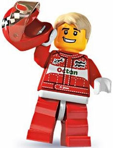 LEGO Minifigure Collection Series 3 LOOSE Mini Figure Race Car Driver