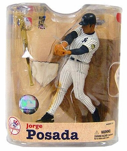 McFarlane Toys MLB Sports Picks Series 21 Action Figure Jorge Posada (New York Yankees) Pinstripes Uniform