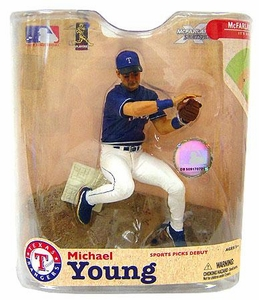 McFarlane Toys MLB Sports Picks Series 21 Action Figure Michael Young (Texas Rangers)