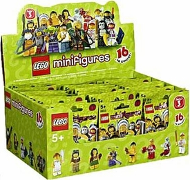 LEGO Minifigure Series 3 Mystery Box [60 Packs]