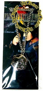 Final Fantasy FF8 Accessories Rinoa and Squal Metal Pendant Necklecklace