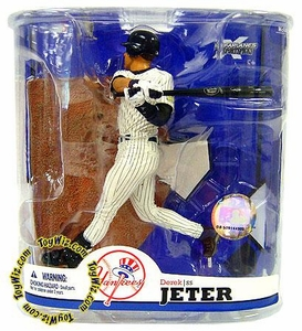 McFarlane Toys MLB Sports Picks Series 22 Action Figure Derek Jeter (New York Yankees) Clean Pants Variant