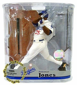 McFarlane Toys MLB Sports Picks Series 22 Action Figure Andruw Jones (Los Angeles Dodgers)