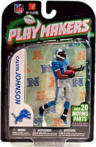 McFarlane Toys NFL Playmakers Series 3 Action Figure Calvin Johnson (Detroit Lions)