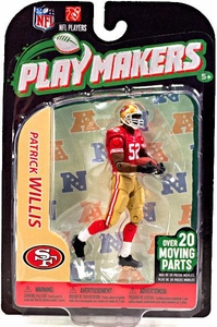 McFarlane Toys NFL Playmakers Series 3 Action Figure Patrick Willis (San Francisco 49ers)