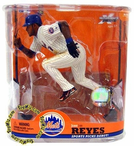 McFarlane Toys MLB Sports Picks Series 22 Action Figure Jose Reyes (New York Mets) Blue Wristbands