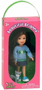 TY Li'l Ones Beautiful Brianna [with Gray Cat in Box]