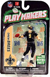 McFarlane Toys NFL Playmakers Series 3 Action Figure Drew Brees (New Orleans Saints)