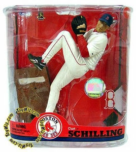 McFarlane Toys MLB Sports Picks Series 22 Action Figure Curt Schilling (Boston Red Sox)