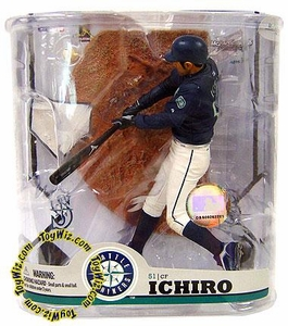 McFarlane Toys MLB Sports Picks Series 22 Action Figure Ichiro Suzuki (Seattle Mariners) With Baseball