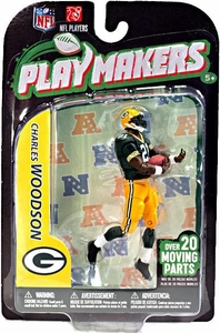 McFarlane Toys NFL Playmakers Series 3 Action Figure Charles Woodson (Green Bay Packers)