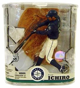 McFarlane Toys MLB Sports Picks Series 22 Action Figure Ichiro Suzuki (Seattle Mariners) No Baseball