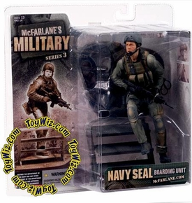 McFarlane Toys Military Soldiers Series 3 Action Figure Navy SEAL Boarding Unit (*Random Ethnicity)