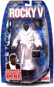 Jakks Pacific Best of Rocky Series 2 Action Figure George Washington Duke [Boxing Promoter from Rocky V]