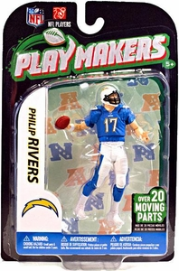 McFarlane Toys NFL Playmakers Series 3 Action Figure Phillip Rivers (San Diego Chargers)