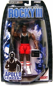 Jakks Pacific Best of Rocky Series 2 Action Figure Apollo Creed [Beach Training Gear from Rocky III]