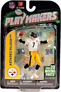 McFarlane Toys NFL Playmakers Series 3 Action Figure Ben Roethlisberger (Pittsburgh Steelers)