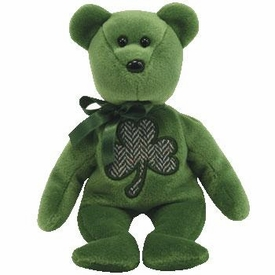 Ty Beanie Baby 2.0 Luckier the St. Patrick's Day Bear