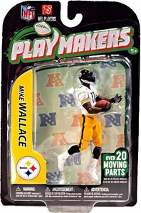 McFarlane Toys NFL Playmakers Series 3 Action Figure Mike Wallace (Pittsburgh Steelers)