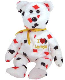 Ty Beanie Baby I Love Las Vegas the Bear