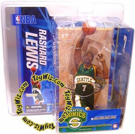 McFarlane Toys NBA Sports Picks Series 10 Action Figure Rashard Lewis (Seattle Supersonics) Green Jersey