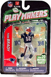McFarlane Toys NFL Playmakers Series 3 Action Figure Tom Brady (New England Patriots)