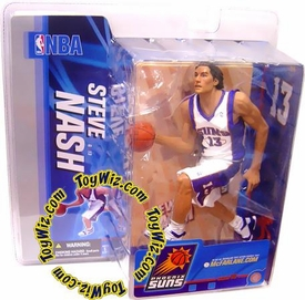 McFarlane Toys NBA Sports Picks Series 10 Action Figure Steve Nash (Phoenix Suns) White Jersey Variant