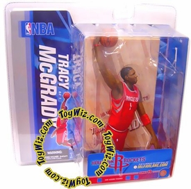 McFarlane Toys NBA Sports Picks Series 10 Action Figure Tracy McGrady (Houston Rockets) Red Jersey