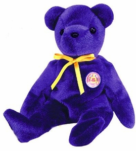 Ty May 2004 Beanie Baby of the Month Sapphire the Bear