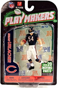McFarlane Toys NFL Playmakers Series 3 Action Figure Brian Urlacher (Chicago Bears)