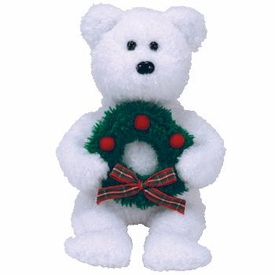Ty December 2006 Beanie Baby of the Month Merriment the Bear