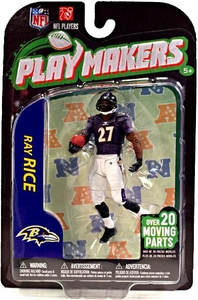 McFarlane Toys NFL Playmakers Series 3 Action Figure Ray Rice (Baltimore Ravens)