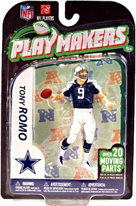 McFarlane Toys NFL Playmakers Series 3 Action Figure Tony Romo (Dallas Cowboys) {Throwback}
