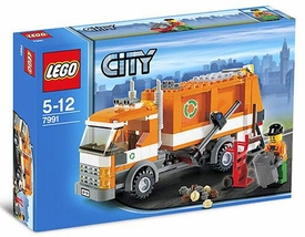 LEGO City Set #7991 Garbage Truck