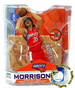 McFarlane Toys NBA Sports Picks Series 14 Action Figure Adam Morrison (Charlotte Bobcats) Orange Jersey
