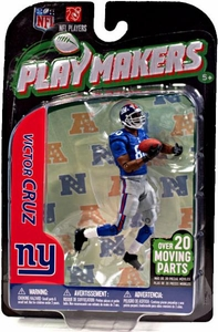 McFarlane Toys NFL Playmakers Series 3 Action Figure Victor Cruz (New York Giants)
